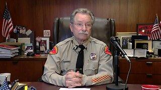 Kern County Sheriff Donny Youngblood Speaks About Deputy's Arrest