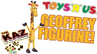 Toys R Us Geoffrey Giraffe Figurine