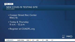 New COVID-19 testing site in Punta Gorda, Florida
