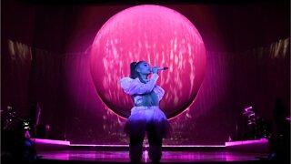 Ariana Grande: Floral False Lashes