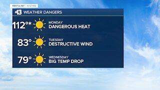 13 First Alert Las Vegas evening forecast | September 6, 2020
