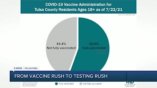 Some health officials wish for another COVID vaccine rush