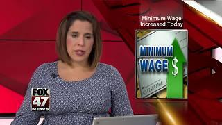 Michigan Minimum wage increasing