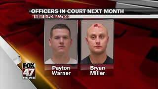 Bath township police officers plead no contest