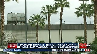 Bolthouse employee tests positive