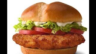 McDonalds unveils new chicken sandwich