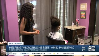 Helping 'microbusinesses' amid pandemic