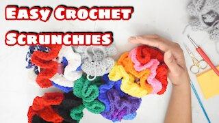 How to Crochet Scrunchies