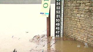 Ohio River levels rising