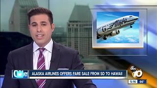 Alaska Airlines offers fare deals