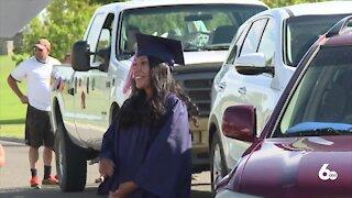 Treasure Valley Community College celebrates graduates with 'CARmencement' ceremony