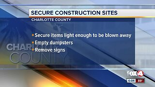 Charlotte County secures construction sites