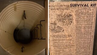 Man finds Cold War bomb shelter under his home