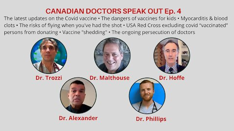 CND DOCS SPEAK OUT EP. 4 DANGERS OF THE VACCINE IN CHILDREN & FLYING VAXXED