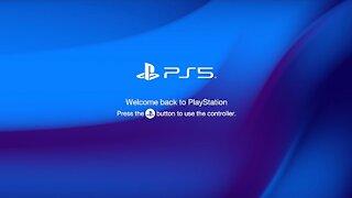 Playstation 5 startup/intro