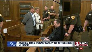 Aubrey Trail found guilty of Sydney Loofe murder