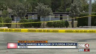 Two charged in Estero double murder