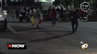 Flooding forces homeless from downtown San Diego shelter