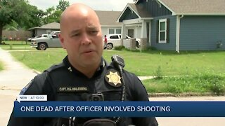 Sunday morning standoff leads to officer involved shooting