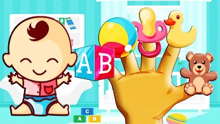Baby Toys Finger Family Song Daddy Finger Song Cookie Tv