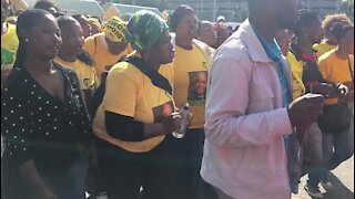 UPDATE 1: ANC supporters march in support of President Zuma (8aF)