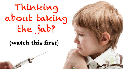 THINKING ABOUT TAKING THE JAB? WATCH THIS FIRST! ~Spacebusters~