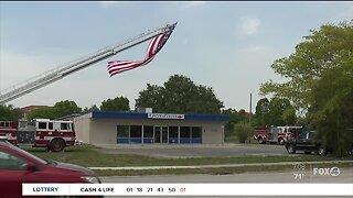 Funeral held for fallen volunteer firefighter