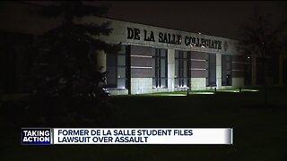 Former De La Salle student files lawsuit over assault