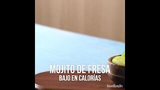 Strawberry Mojito Low Calorie