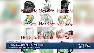 SIDS Awareness Month: Helping Parents Keep Their Infants Sleep i