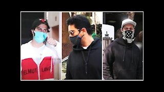 Varun Dhawan, Angad Bedi & Vicky Kaushal Spotted in the City | SpotboyE