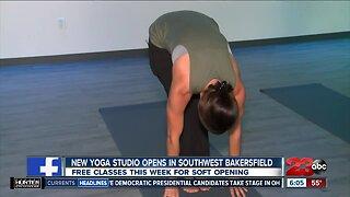 New Yoga Studio in Southwest Bakersfield