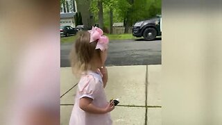Deputy saves 3-year-old's birthday with a dance