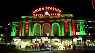 Grand Illumination at Union Station sees reduced crowds as Denver tightens restrictions