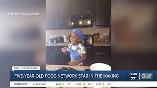 5-year-old is food network star in the making
