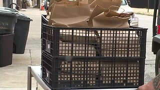 Meals delivered to health care workers in Baltimore