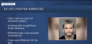Ex-UFC fighter arrested in Las Vegas
