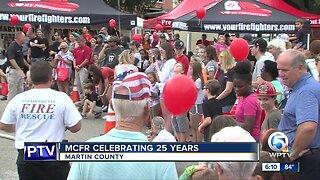 Martin County Fire Rescue celebrates 25 years