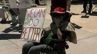 Protests continued in Wauwatosa, Washington Heights neighborhoods