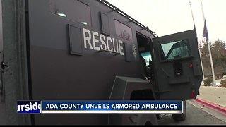 Ada County Paramedics unveils armored ambulance