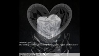 Without you, the cold of solitude freezes my heart... [Quotes and Poems]