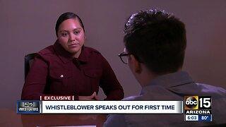 Whistleblower speaks exclusively to ABC15 as cover-up attempts allegedly continue at Lewis Prison