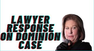 Sidney Powell's Lawyer Response on Dominion Lawsuit!!!