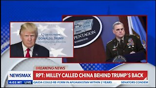 Trump On Gen Milley Warning China Of An Attack: If True This Is Treason