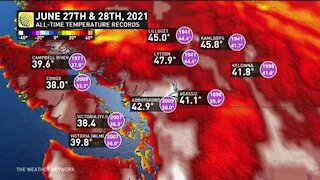 Living through weather history, tracking the record temperatures across B.C.