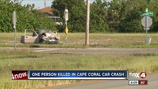 Deadly Cape Coral crash