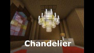 Fancy Chandelier Minecraft Build