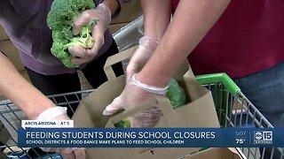 Feeding students during school closures