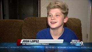 Tucson boy appears on Nickelodeon