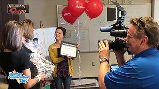 Teacher Appreciation Day Surprise: Rebecka Peterson, Union High School